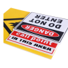 Personalized printing yard signs