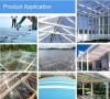 Corrugated polycarbonate sheet