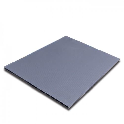 Gray PP Corrugated Correx Sheet