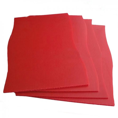 Red PP Corrugated Plastic Board