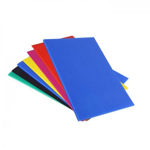 Blue PP Corrugated Twinplast Board