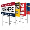 PP plastic HOLLOW sheets Yard Signs