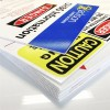 PP printed outdoor advertising yard sign boards