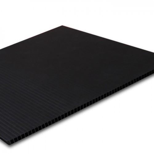 Black PP Corrugated Corriflute Board