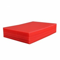 Red PP Corrugated Plastic Board