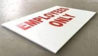 Office Coroplast Boards