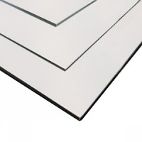 "3MM 48"" X 96"" WHITE 1 SIDED BEBOND EMFB30"