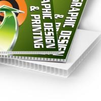 PP Material Corrugated Plastic Board
